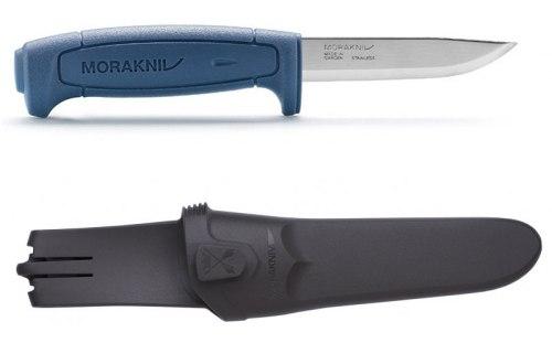 Нож туристический в чехле Morakniv Basic 546