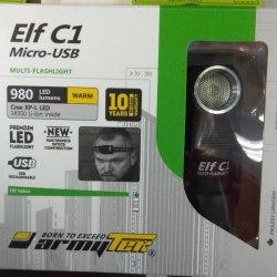 Фонарь Armytek Elf C1 теплый свет