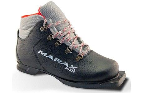 Ботинки лыжные 75 мм натуральная кожа 330 Marax