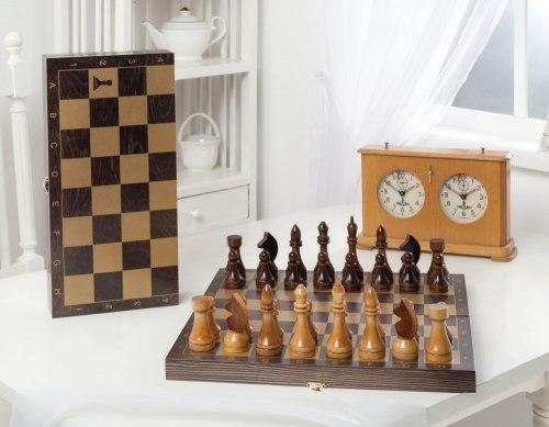 Шахматы гроссмейстерские венге 196-18