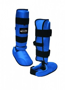 Защита голени стопы карате WKF Vimpex Sport 2308