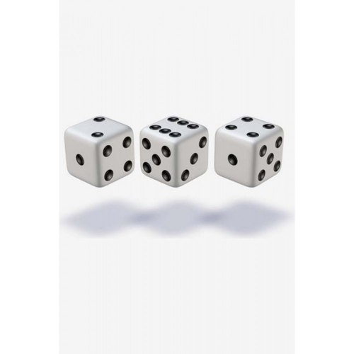 Кубики-зары пластмассовые 12