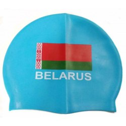 Шапочка для плавания с флагом