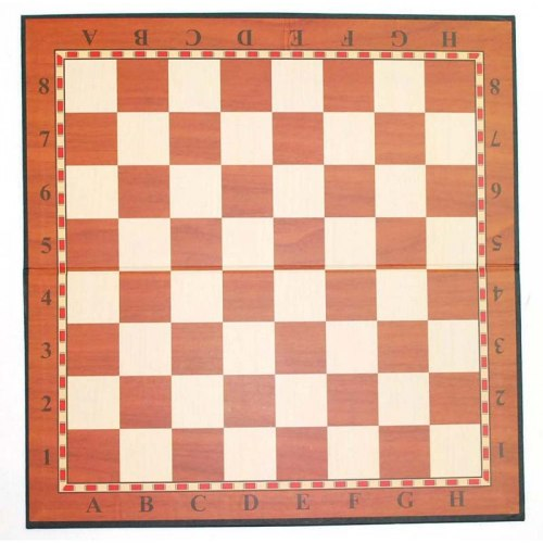 Доска шахматная картонная D-002 плотная
