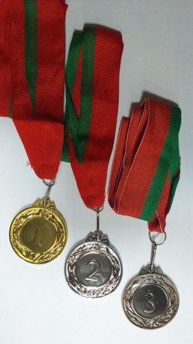 Медаль 1 2 3 место 4,5sm