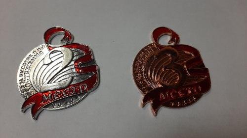 Медаль призовая формовая 005