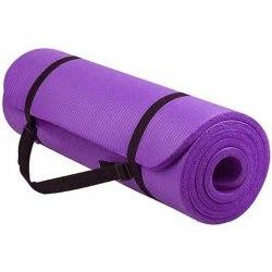 Коврик для йоги и фитнеса Atemi AYM05PL 183*61*1.0 см.фиолетовый
