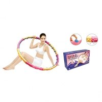 Массажный обруч (хулахуп) Dynamic Health Hoop W 2,3 кг
