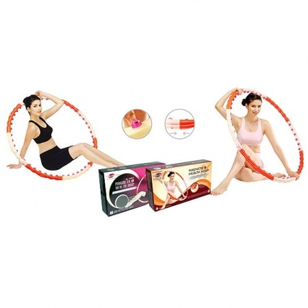 Массажный обруч (хулахуп) Magnetic Health Hoop II 1,2 кг