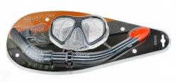 Набор для плавания Intex маска трубка 55648 серый