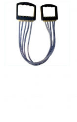 Эспандер плечевой 5 резинок ЭП-01