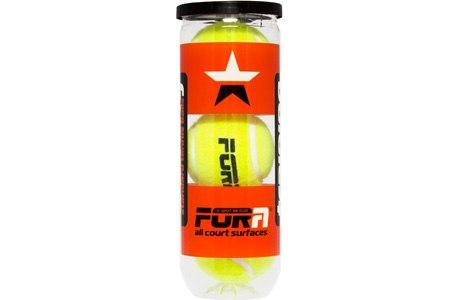 Мячи для большого тенниса ( 3 шт ) в тубе FORA T801P3