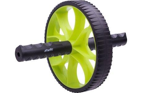 Ролик для пресса гимнастический (зеленый/черный) STARFIT RL-103