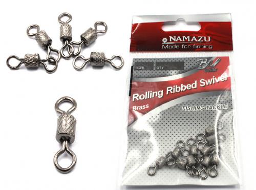 Вертлюг Namazu ROLLING RIBBED SWIVEL.