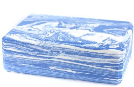 Блок для йоги c эффектом мрамора ARTBELL