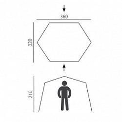Палатка - шатер BTrace Opus быстросборная