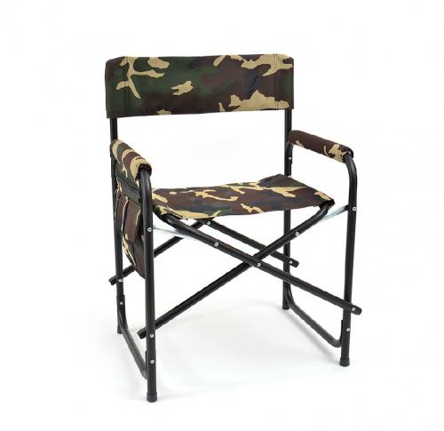 Кресло складное ( сталь ) с карманом SK-02