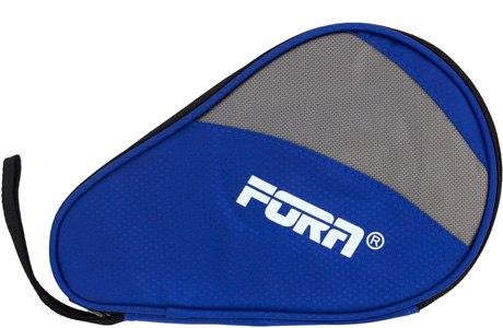 Чехол для ракетки настольного тенниса Fora (синий/серый)