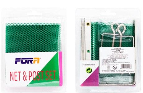 Сетка для настольного тенниса Fora 9811C