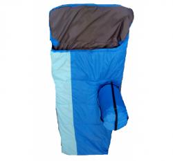 """Спальный мешок-одеяло с подголовником """"Алтай-экстрим"""" L XL"""