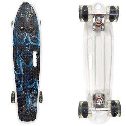 Скейт пластмассовый