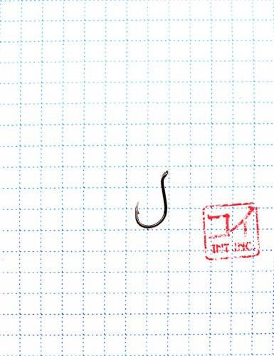 """Крючок KOI """"BEAK-RING"""", размер 10 (INT), цвет BN (10 шт.)"""