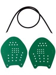 """Лопатки для плавания """" Longsail Target"""" (L ; зеленые )"""