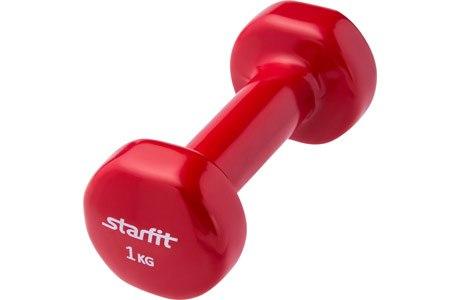 Гантели виниловые 1 кг Starfit DB-101