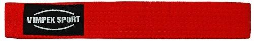 Пояс для кимоно ECB-4008 VimpexSport красный желттый оранжевый