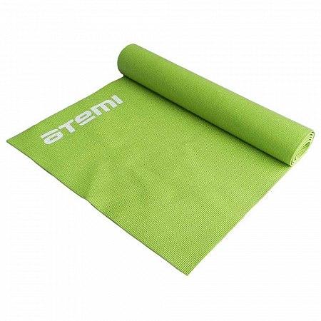 Коврик для йоги и фитнеса Atemi, AYM01GN, ПВХ, 179х61х0,4 см, зеленый