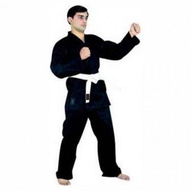 Кимоно для карате черное рост 160