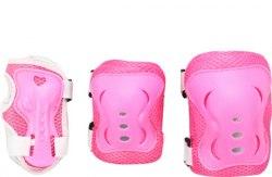 Комплект защиты Fora LF-0240 розовый белый мятный