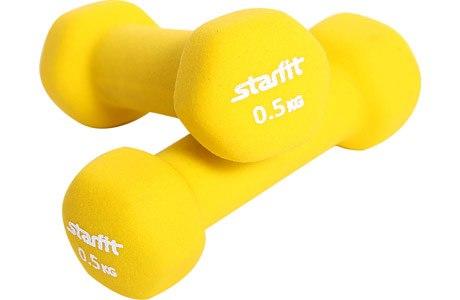 Гантели неопреновые Starfit 2 х 0,5 кг DB-201-0,5