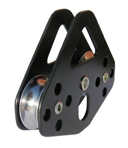 """Блок-ролик """"Тандем"""" Sturdy стальной с подшипником, ver 0412-1"""