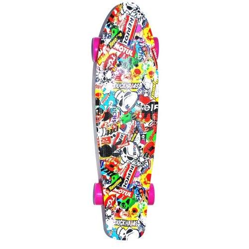 Скейт пластмассовый 209-7