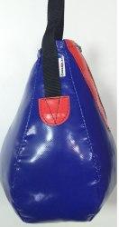 Груша Боксёрская каплевидная 280 мм цвет синий с красным