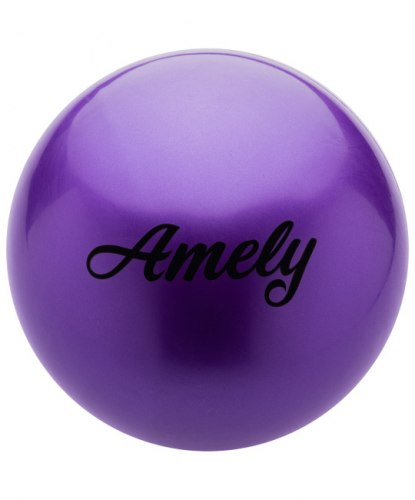 Мяч для х/г Amely AGB-101 15 см, оранжевый ст.вв.РФ