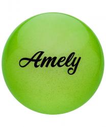 Мяч для х/г Amely AGB-102 19 см, ст.вв.РФ