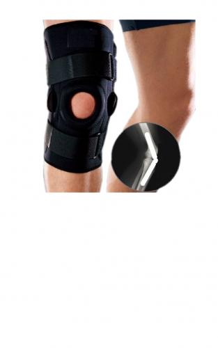 Суппорт колена с металлическими штифтами