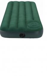 Матрас флокированный INTEX 66929 152х203х22см (встроенный ножной насос)
