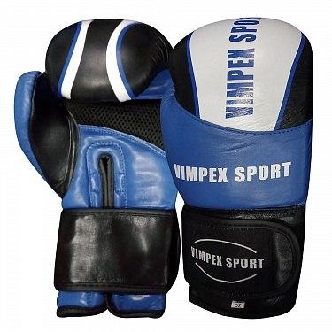 Перчатки для бокса Vimpex Sport Синие 3033 10 ун.
