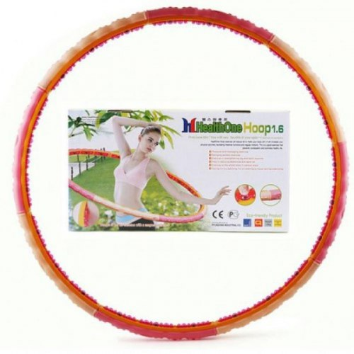 Хулахуп для похудения 1,6 кг Health One Hoop