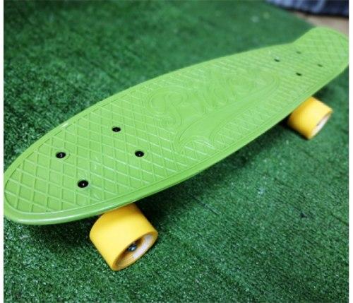 """Скейт круизер пластиковый RIDEX Soldier 22""""x6"""""""