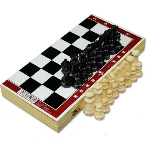 Шахматы деревянные AC-102 29*29*2см
