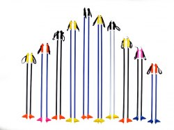 Палки лыжные 170см метал