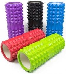 Ролик - Валик для йога (33х12,5 см). массажный FR001