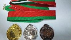 Медаль 1 2 3 место 4sm