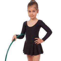 Купальник гимнастический Свиола с юбкой 11-1006 рост 104-110 110-116 116-122