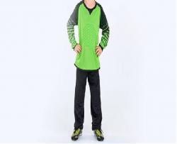 Форма спортивная вратаря LB7607-BKG черный/зеленый 146-152 152-156