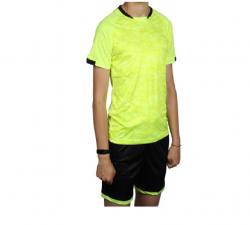 Форма спортивная футбол LD5021 лимонный/черный 140-146 146-152 152-156